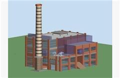 工厂全貌 简模