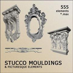 3D Models – Decorative Items Stucco Mouldinds 装饰粉刷