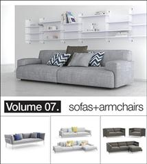 Model+model: Vol.07 Sofas+armchairs 沙发+扶手椅模型