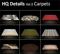 HQ Details – Vol.3 Carpets 地毯
