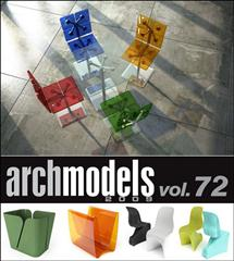 Evermotion – Archmodels vol. 72 (FBX)家具
