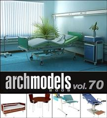 Evermotion – Archmodels vol. 70 (FBX) 医院设备