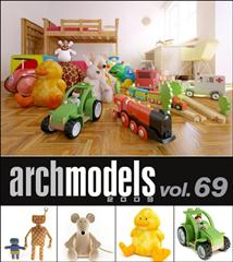 Evermotion – Archmodels vol. 69 (FBX)儿童玩具