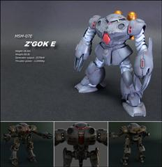 ZUGOCK-E Robot – Max 2010 Vray with Texs Plus Obj 机器人