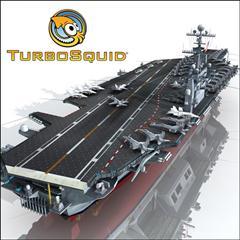 TurboSquid – USS John C Stennis CVN-74 斯坦尼斯号航空母舰模型