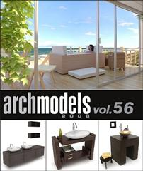 Evermotion – Archmodels vol. 56 (FBX)