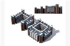 欧式房屋建筑外表