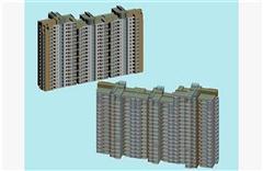 高层楼房建筑外表