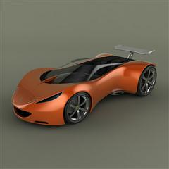 Lotus Hot Wheels Concept 跑车