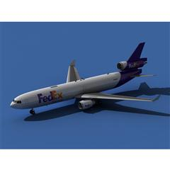 Md-11 turbo squid product(Cargo) 飞机
