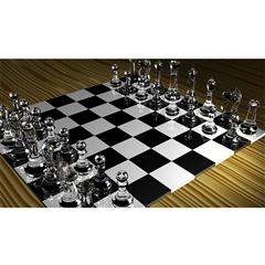 国际象棋 Glass Chess Set