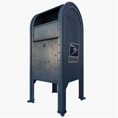 邮箱 USPS Mailbox