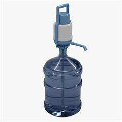 Water Pump With 5 Gallon Bottle 5加仑桶装水