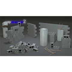 混凝土砌块墙 Concrete Block Wall