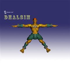 街霸人物模型系列 DHALSIM