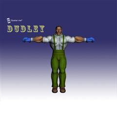 街霸人物模型系列 DUDLEY
