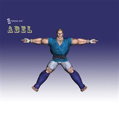 街霸人物模型系列 ABEL