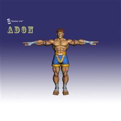 街霸人物模型系列 ADON