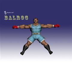 街霸人物模型系列 BALROG