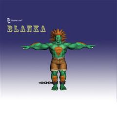 街霸人物模型系列 BLANKA