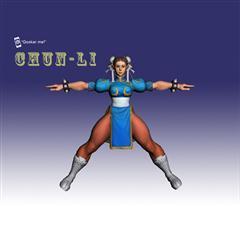 街霸人物模型系列 CHUN-LI