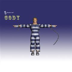 街霸人物模型系列 CODY