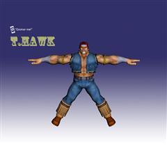街霸人物模型系列 T.HAWK