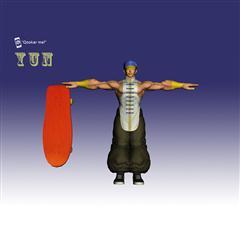 街霸人物模型系列 YUN