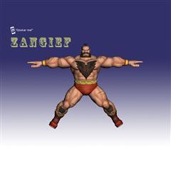 街霸人物模型系列 ZANGIEF