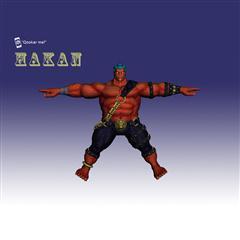 街霸人物模型系列 HAKAN
