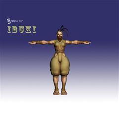 街霸人物模型系列 IBUKI
