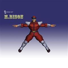 街霸人物模型系列 M.BISON