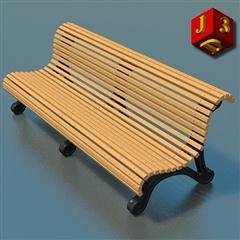 花园里的长椅 Garden bench