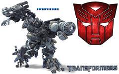 铁皮 Ironhide 变形金刚系列单体模型