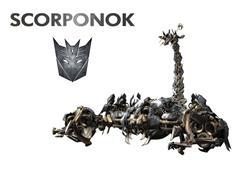 撒克 Scorponok 变形金刚系列单体模型