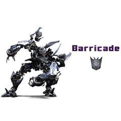 路障 Barricade 变形金刚系列单体模型