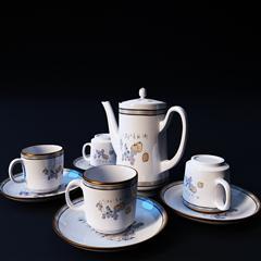精美的茶具