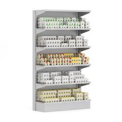 超市货架 4