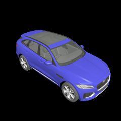 汽车系列 Jaguar F Pace S 2017