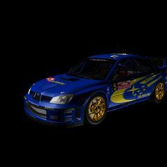 汽车系列 Subaru Impreza STi WRC 2006