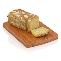 精美食物  切开的枕头面包