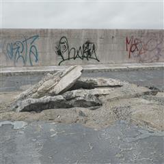 废弃建筑石料 石板