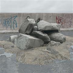 废弃石料 大石块