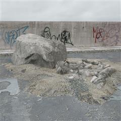 废弃石料 巨石块