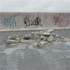 废弃石料 石板 石梁