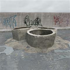 废弃建筑材料 水泥管