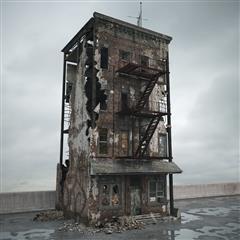 废弃老旧房屋