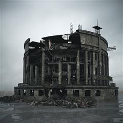废弃建筑 银行
