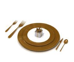 刀 叉 汤匙 盘