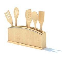 木质饭勺和锅铲